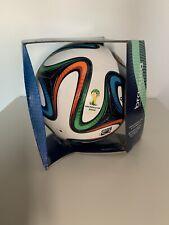 Adidas Fussball Brazuca 2014 WM Brasilien FIFA World Cup Official Matchball OMB