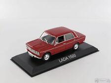 Legendary Cars LADA 1500 FIAT 124 Red Rossa Rara !  1:43 Die Cast  [MZ]