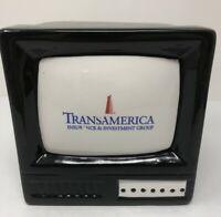 vintage bank Advertising Cookie jar TV Television