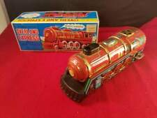 """Yone 1970's Japan Overland Express wind up train 6.5""""L Working!"""