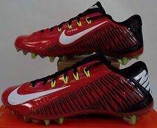 New Mens 11 NIKE Vapor Carbon ELT 2014 TD Red Black Cleats Shoes $160 631425-600