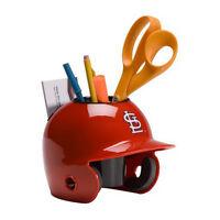 St. Louis Cardinals MLB Baseball Schutt Mini Batting Helmet Desk Caddy