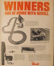 1966 Revell Gran Turismo~Model Kits~Slot Car Racing Sets Oddball Boys Kid Toy AD