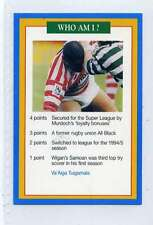 (Jj093-100) RARE Trade Card Premier of Va'Aiga Tuigamala  ,Rugby 1997 MINT