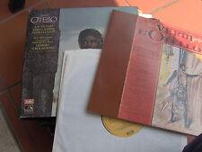 BOX 3 LP STEREO SLS975 OTELLO VERDI H. VON KARAJAN + VOLUME 85 PAG. N/MINT -MINT