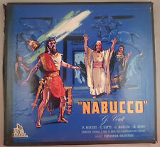 Verdi: Nabucco/Previtali - Italy Cetra 3LP Box Set PC1216 1955 Green Label VG++