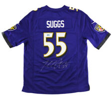 Terrell Suggs Signed Baltimore Nike Limited Purple Jersey