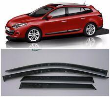 For Renault Megane Grandtour 2009-2015 Window Visors Rain Guard Vent Deflectors