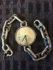 Unusual Vintage Swiss 800 Silver Wrist Watch