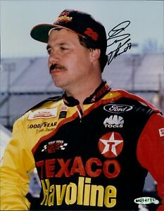 Ernie Irvan NASCAR Racing Signed 8x10 Matte Photo Upper Deck Authenticated