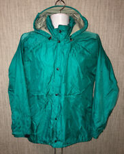 Mont-Bell Mens Teal Nylon Full Zip Jacket 21.5 Inch Armpit Size M