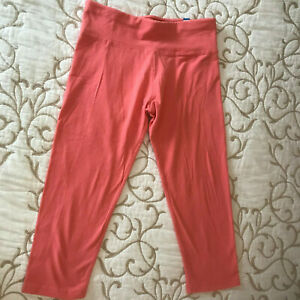 Justice Coral Crop Leggings  - Girls Size 14 - Simple but Nice