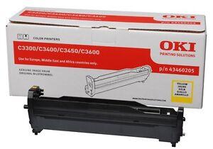 Original OKI 43460205 gelb Drum Kit/Bildtrommel ►C 3300/3400/3450/3600 Series