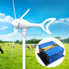 Phoenix Max 550 Watt 12 V DC Wind Turbine Generator 3 Blade + Charge Controller