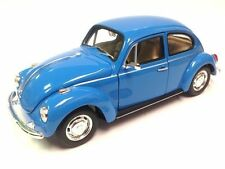 WELLY 1:24 DISPLAY - VOLKSWAGEN BEETLE HARD TOP Diecast Car V28436D Blue