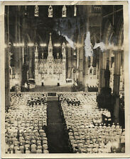 VINTAGE PHOTO ST PAULS CATHEDRAL  NURSING SCHOOL BLESSING PITTSBURGH, PA 1930S