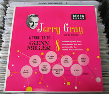 """JERRY GRAY AND HIS ORCHESTRA -A TRIBUTE TO GLENN MILLER- 10"""" LP JAZZ"""