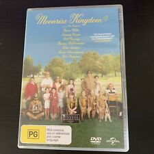 Moonrise Kingdom (DVD, 2012) Bill Murray, Bruce Willis. Region 4,2
