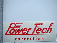 Adesivo sticker POWER TECH-correction-TUNING-Motorsport (6322)