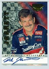 Dale Jarrett 1999 Wheels High Gear Signed Autographed Auto Autograph Insert Card