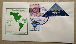 1964 Jamaica FDC Inter - American Scout Conference August 1964  Great Condition