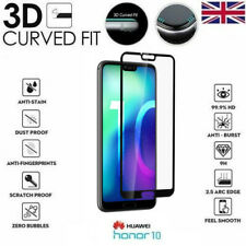 For Huawei Honor 10 (ONLY) Full 3D Tempered Glass 9H Screen Protector Cover