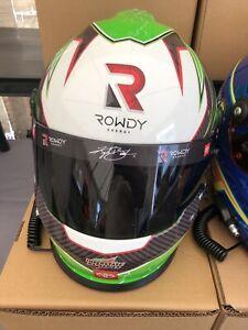 2021 Kyle Busch Interstate JGR 30th Ann. full size helmet