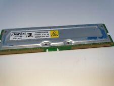 FOR DELL KINGSTON KVR800X16/256  256MB/16 Rambus 16ECC PC 800Mhz Memory