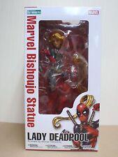 Japan Kotobukiya Marvel Universe Marvel Bishoujo Lady Deadpool 1/7 PVC Figure