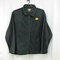 Bass Pro Shops Mens Zip Fleece Jacket Size 2XL Embroidered Logo Black