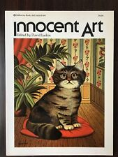 Innocent Art Edited By David Larkin 1974 40+ Color Gloss Art Plates w/ Duranton