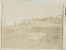Italia, Pinerolo (Torino), Villa Flora Galetto, cca. 1902  Vintage citrate print
