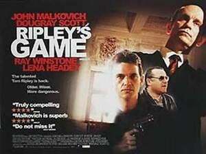Ripley's Game Original Movie Poster