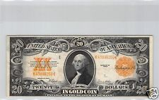 USA GOLD CERTIFICATE $20 DOLLARS 1922 PICK 275 !!!