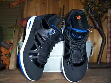 AND1 BOYS ATHLETIC SHOES MID ANKLE HIGH TOPS SIZE 1 COLOR BLACK BOYS BASKETBALL