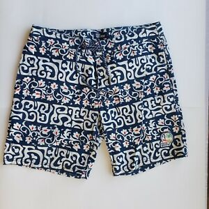 Awesome REYN SPOONER 1970s Mid-Rise corduroy SURF shorts Size 28