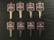 Lot of 8 2016 Cubs World Series Championship Kwikset Keylocks
