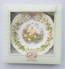 Royal Doulton Brambly Hedge Spring Plate Dish Signed Vintage Pottery