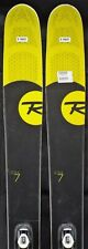 14-15 Rossignol Soul 7 Used Men's Demo Skis w/Bindings Size 180cm #819657