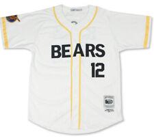Bad News Bears Chico's Bail Bonds #12 Baseball Jersey