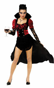 Vampiressa Sexy Adult Women Costume Vampire Scary Funworld 122824 Halloween