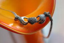 Silver 925 Irish Claddagh necklace