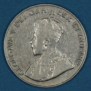 1926 Canada 5 Cents coin, VF/XF, KM# 29