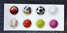 2017USA #5203-5210 Forever - Have a Ball - Block of 8 (as pictured) Mint