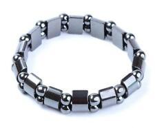 New Black Magnetic Hematite Bracelet Healthy Natural Stone Bracelet Gift