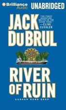 RIVER OF RUIN (Phillip Mercer) unabridged audio CD by JACK DU BRUL - Brand New!