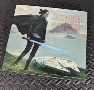 SIGNED The Art Of Star Wars The Last Jedi.