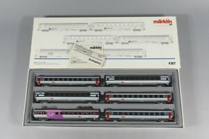 H 81416 Märklin Zugpackung 4367, neuwertig im Originalkarton