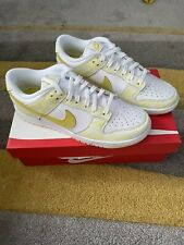 Nike Dunk Low Yellow Strike UK 8.5 *IN HAND* Trusted 100% Seller ⭐️ 🌟