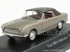Fiat 2300 S Cabriolet closed 1962 Grigio Metallizzato 1:43 Starline 609616